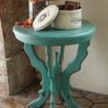 Lille Aqua Side Table