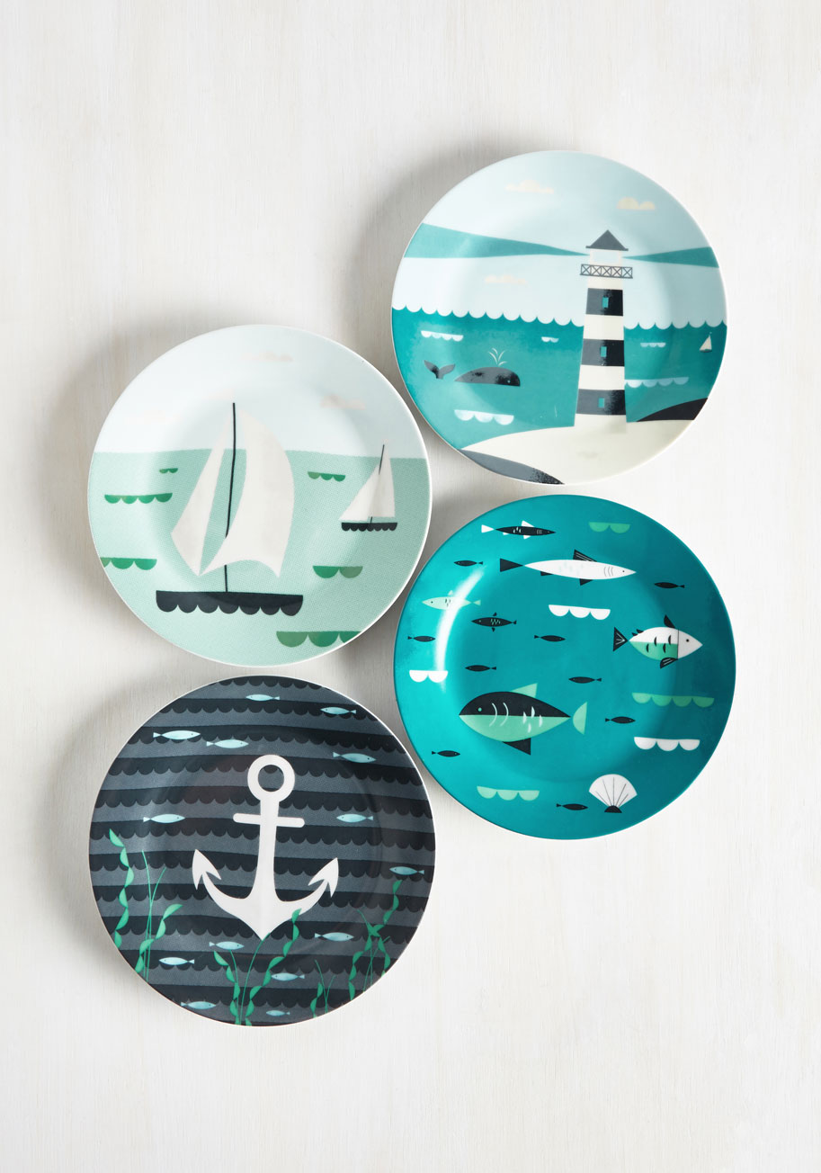 Nautical Plate Set