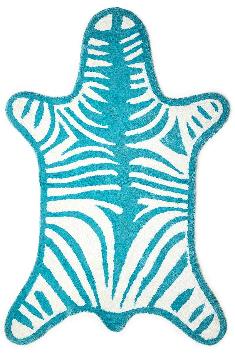 Zebra Bathroom Rug Bath Rugs Everything Turquoise