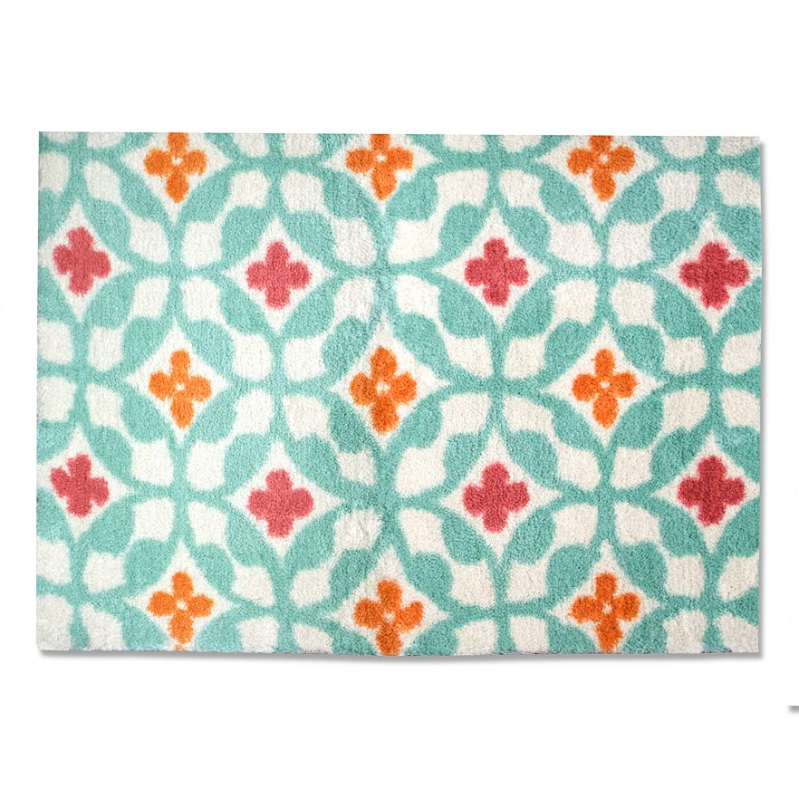 Fantastic They Quickly Found New Homes In My Home The Turquoise Rug Is The Perfect Replacement For The Nate Berkus Bath Rug I Tried In My Kitchen, Which Was A Bit Small And Sadly Shrank After Washing Making It Even Smaller I Love The Much Bolder