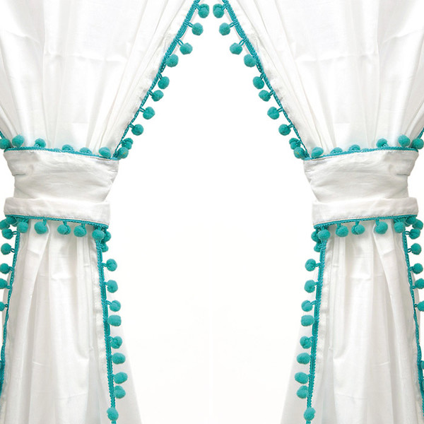 Tan And Brown Curtains White and Aqua Curtains