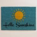 Hello Sunshine Coir Doormat
