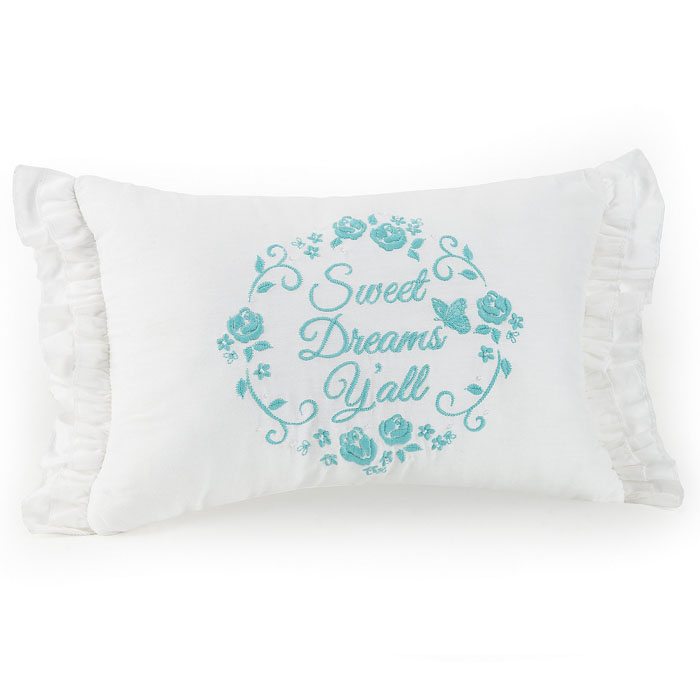 Elodie Sweet Dreams Y'all Ruffled Oblong Pillow