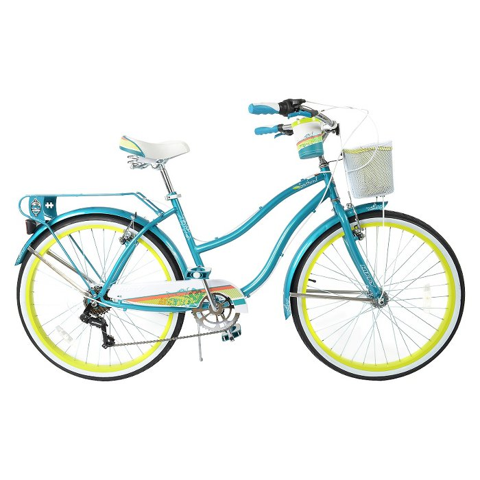 Huffy Ladies Teal Southwind Cruiser Everything Turquoise
