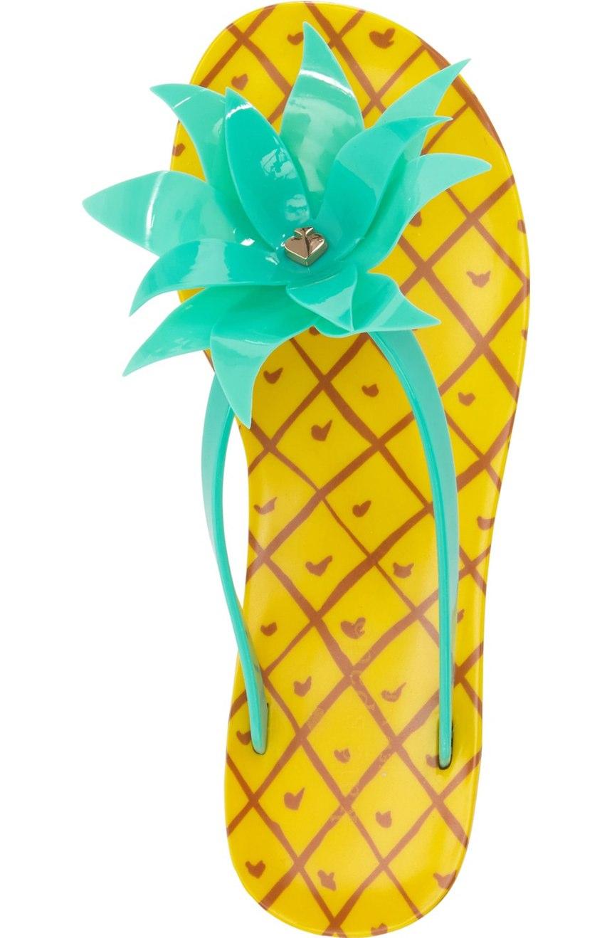 Kate Spade Flynn Pineapple Flip Flop
