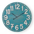 """Turquoise 36"""" Clifford Clock"""