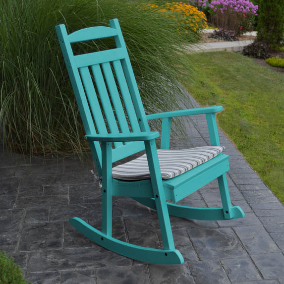 classic porch rocking chair everything turquoise. Black Bedroom Furniture Sets. Home Design Ideas