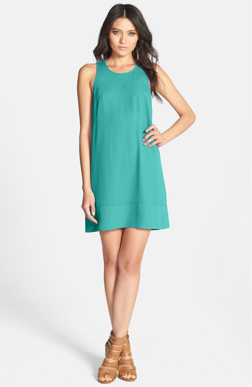 Racerback Shift Dress