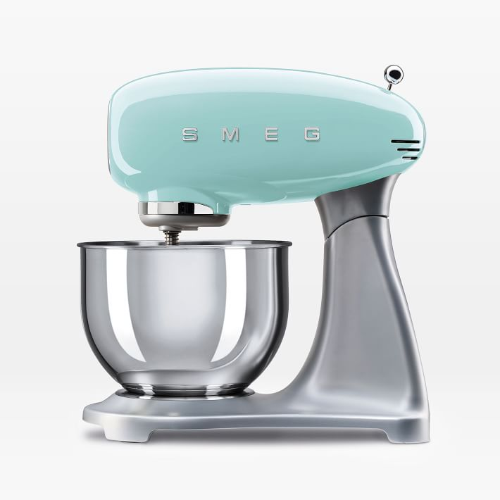 Smeg Mixer Everything Turquoise