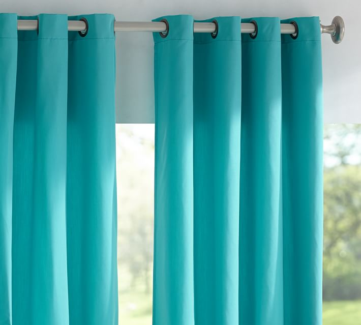 Sunbrella Solid Indoor/Outdoor Grommet Drape