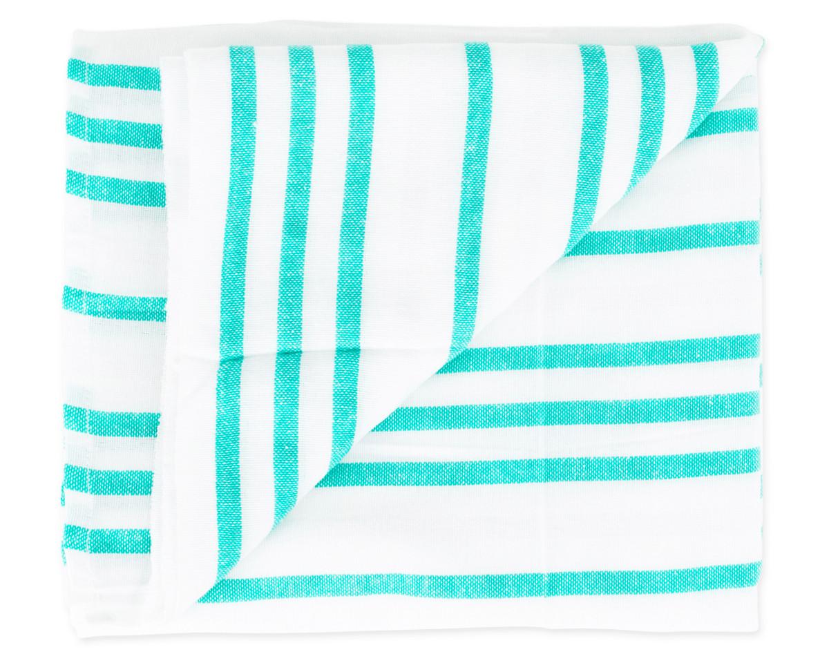 Teal Tulum Blanket