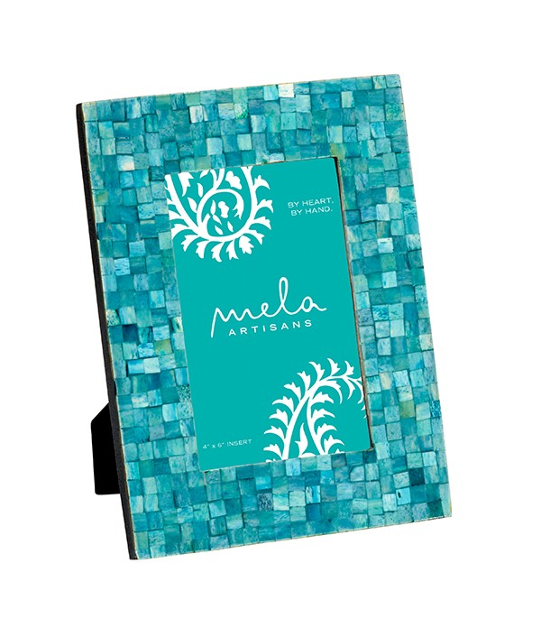 Turquoise Congo Photo Frame