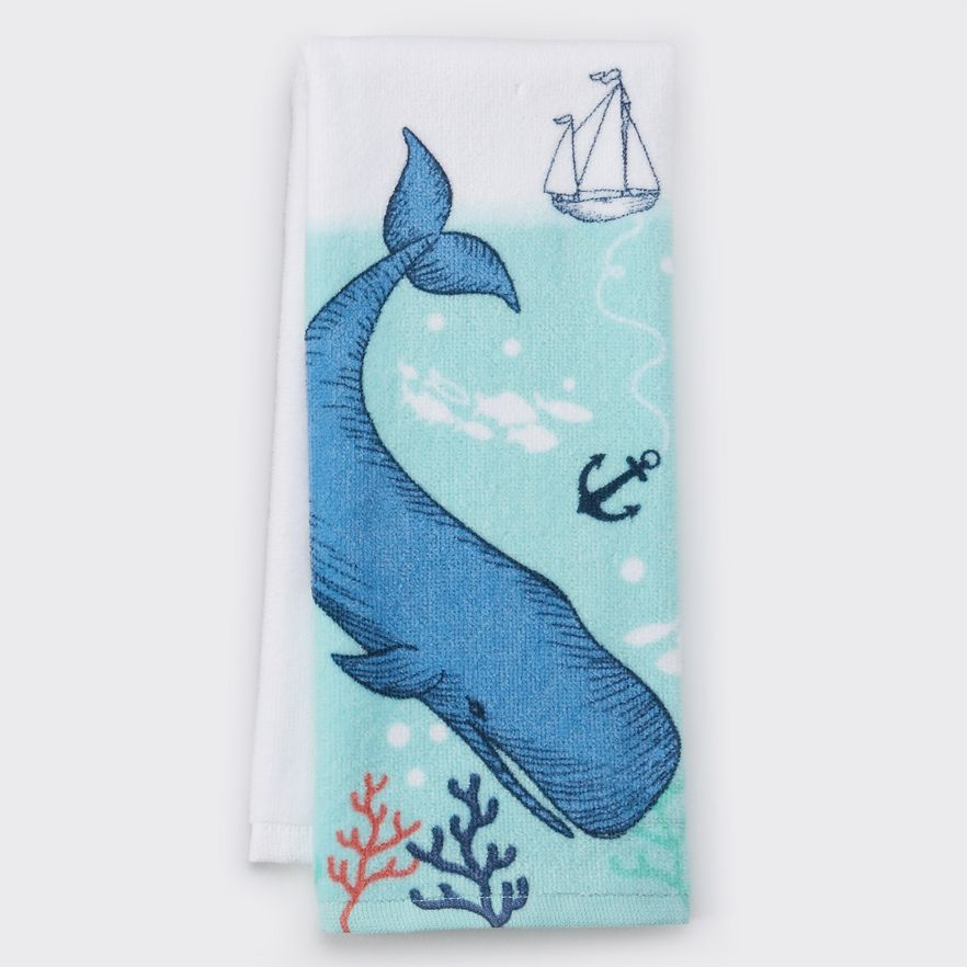 Whale Kitchen Towel