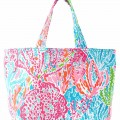 Lilly Pulitzer Let's Cha Cha Beach Tote Bag