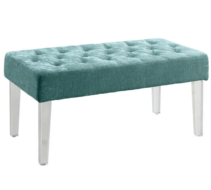 Teal Linon Ella Bench