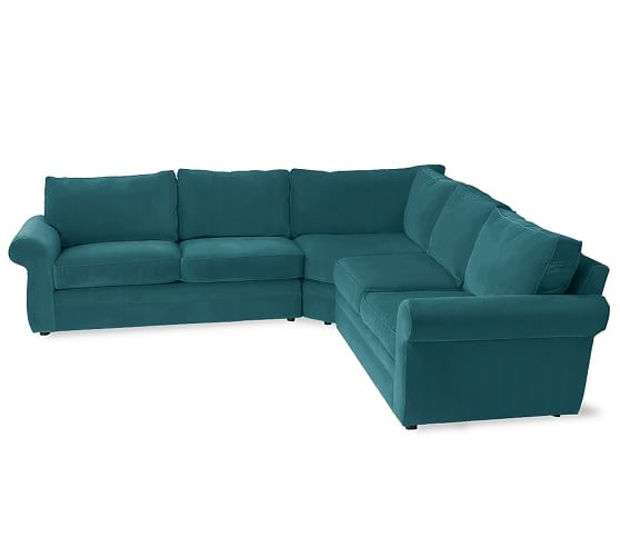 Pearce Upholstered 3-Piece L-Shaped Sectional