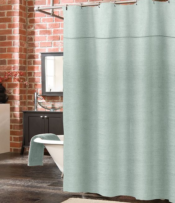 Southern Living Camden Linen Shower Curtain