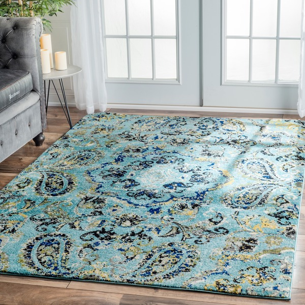 nuLOOM Modern Vintage Vintage Abstract Area Rug