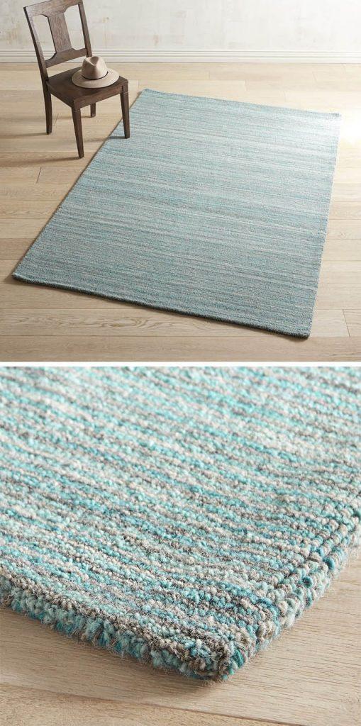 Turquoise Striped Rug Area Rug Ideas