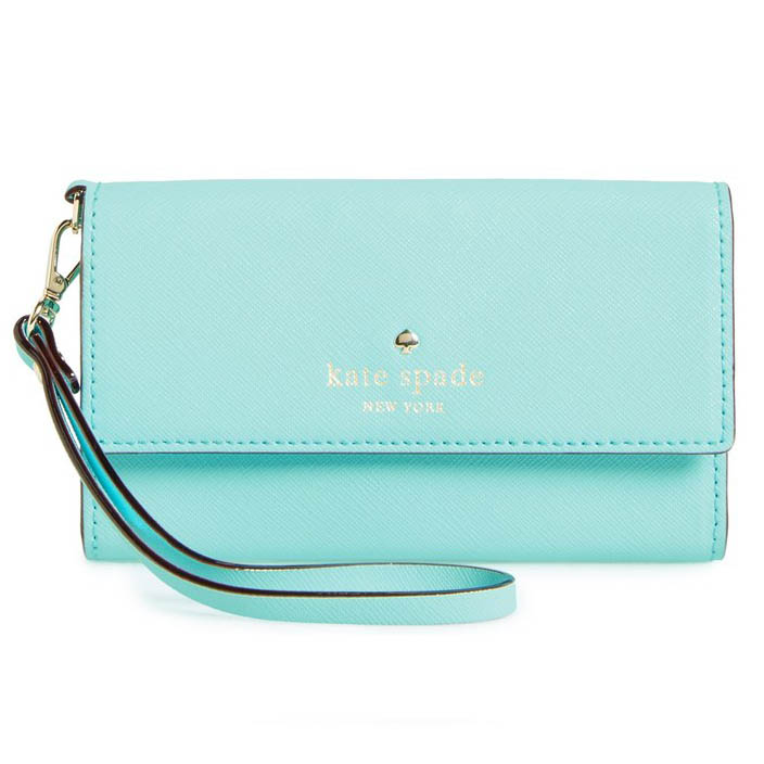 Kate Spade Cedar Street iPhone 6 Leather Wristlet