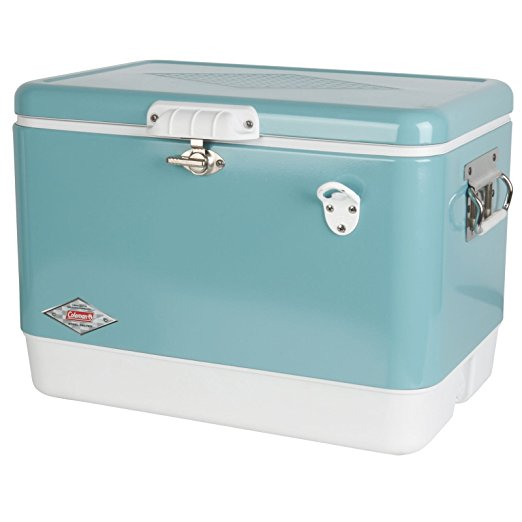 Turquoise Coleman Steel-Belted Cooler