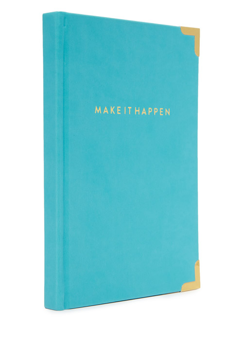 Turquoise Make It Happen Journal
