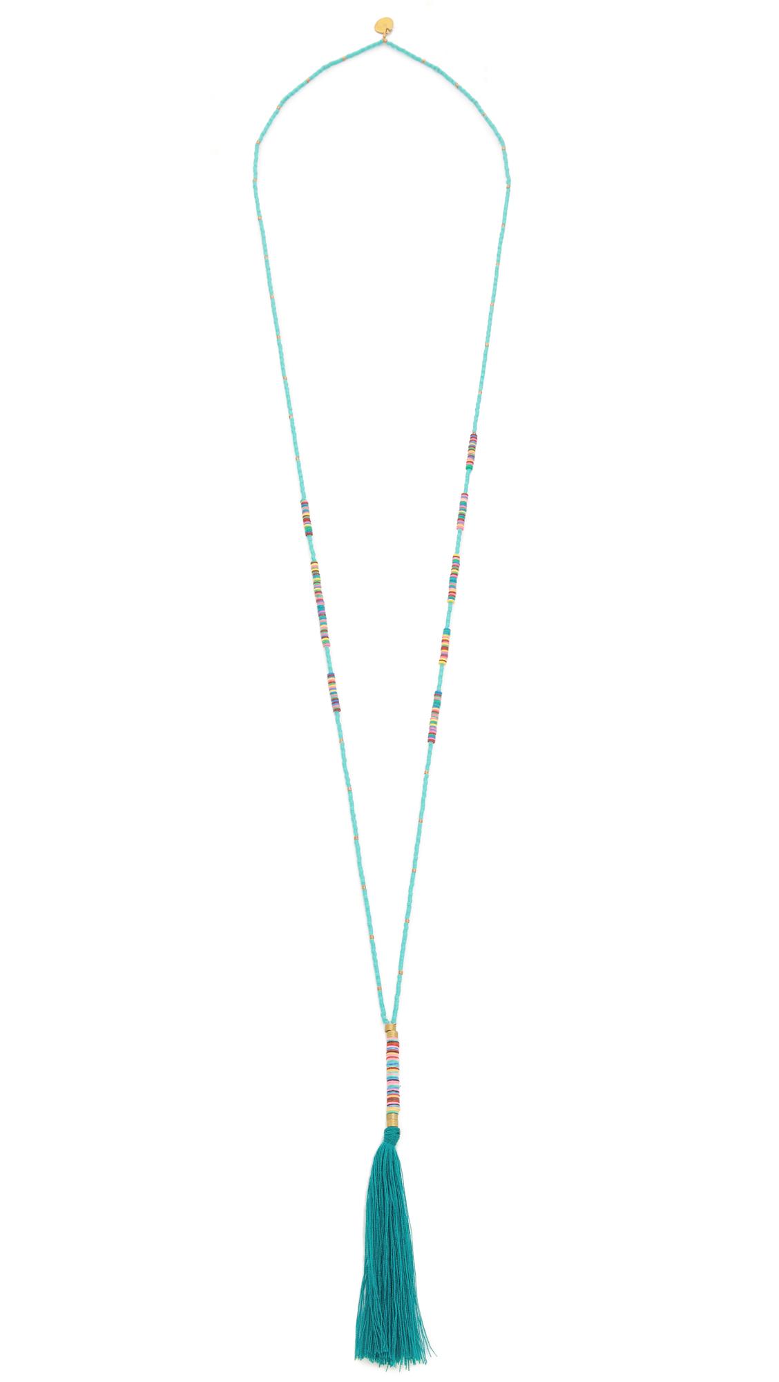 Turquoise Mishky Koala Necklace