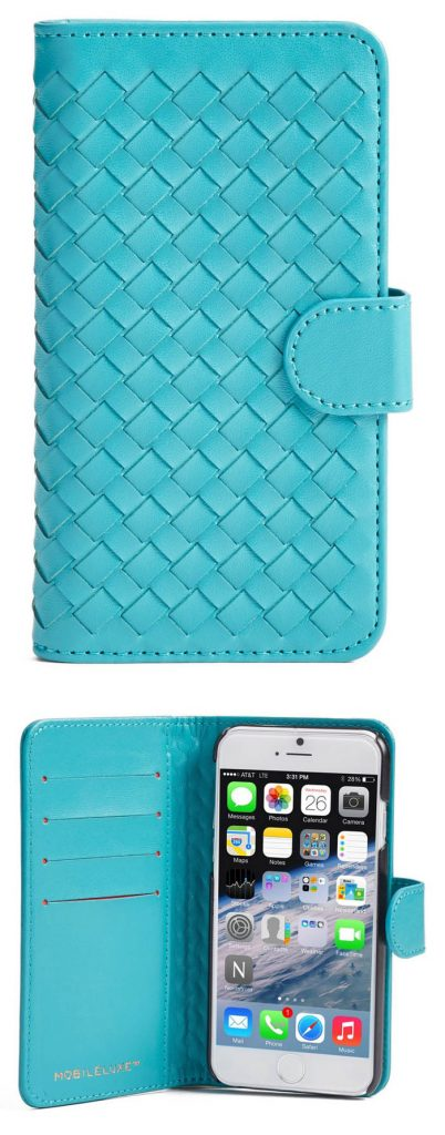 Teal iPhone 6/6s Wallet Case