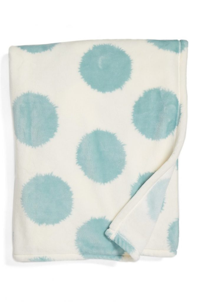 Print Plush Throw